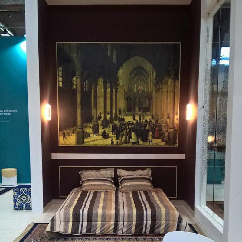 چاپ کاغذ دیواری سفارشی | غرفه نمایشگاه بین المللی | تهران