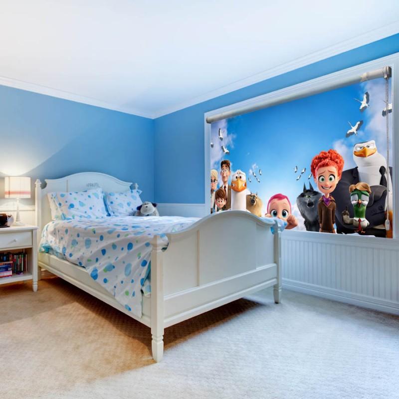 چاپ پرده شید | نمونه اتاق کودک
