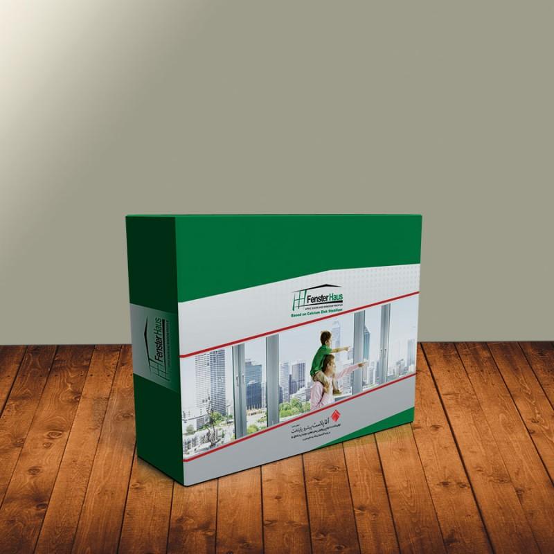 چاپ افست |چاپ و بسته بندی سطح مقطع پروفیل درب و پنجره